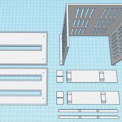lancool-2-dvd-cagew.JPG Download STL file Lian Li Lancool 2 DVD Writer Drive Cage • 3D printable design, BrocksWay