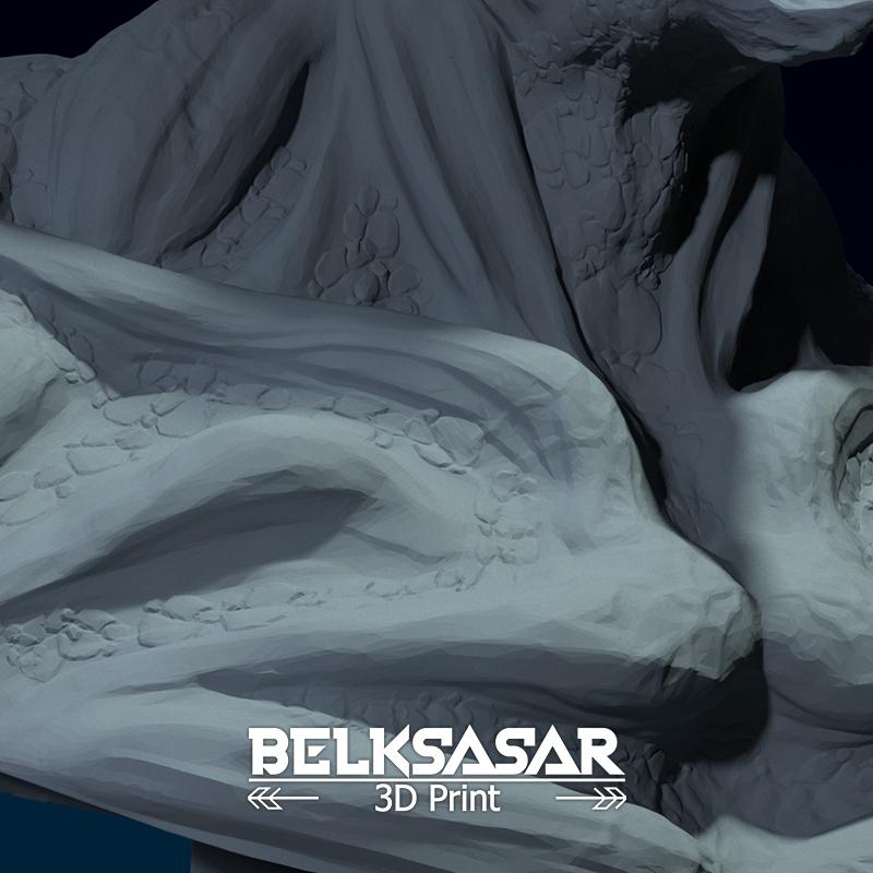 08.png Télécharger fichier OBJ Modèle d'impression 3D du buste du démon • Design imprimable en 3D, belksasar3dprint