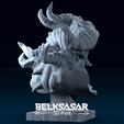 06.png Télécharger fichier OBJ Modèle d'impression 3D du buste du démon • Design imprimable en 3D, belksasar3dprint