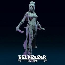 01.jpg Télécharger fichier OBJ Assassin avec Katana dans une pose dynamique - deux versions Modèle d'impression 3D • Plan pour imprimante 3D, belksasar3dprint