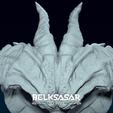 10.png Télécharger fichier OBJ Modèle d'impression 3D du buste du démon • Design imprimable en 3D, belksasar3dprint