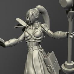 04 Female Priest.jpg Download OBJ file Fantasy Female Priest 3D print model • 3D printable design, belksasar3dprint