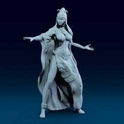 01.jpg Télécharger fichier OBJ Midna La légende de la princesse Zelda Twilight modèle d'impression 3D • Design imprimable en 3D, belksasar3dprint