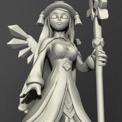 04 Crystal Fairy.jpg Télécharger fichier OBJ Modèle d'impression 3D de la fée de cristal de la fantaisie • Plan pour imprimante 3D, belksasar3dprint
