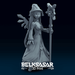 01.png Download OBJ file Fantasy Crystal Fairy Topless 3D print model • Template to 3D print, belksasar3dprint