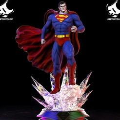 42982631_507459606388342_4953738785838858240_o.jpg Télécharger fichier STL Superman • Plan à imprimer en 3D, U3Dprintshop