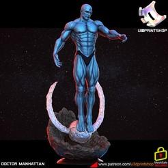 doc.3225.jpg Télécharger fichier STL Docteur Manhattan • Modèle imprimable en 3D, U3Dprintshop