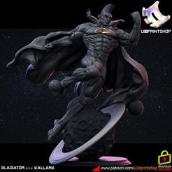 87832823_104462657832073_4774014401868988416_o.jpg Download STL file Gladiator (KALLARK) • 3D printer design, U3Dprintshop