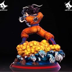 42851985_507454543055515_2153109771689918464_o.jpg Download STL file Goku • 3D printer design, U3Dprintshop