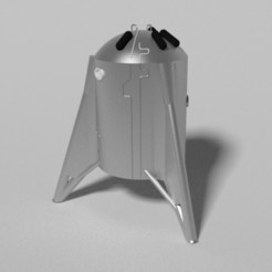 Starhopper4.jpg Download STL file Starhopper (-bin) • 3D print object, The3Dcreator