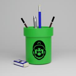DDD.png Download free STL file SUPER MARIO PIPE • 3D printer model, geo1994s10s