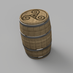 DB4B2485-9F34-45A8-BF54-CA26E2882D3E.png Download STL file Whisky barrel for Glencairn glass multicolor/multipart • 3D print template, FOGD