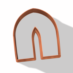 arco 3.png Download STL file POINTED ARCH CLAY CUTTER  • 3D printable template, carolina19ng