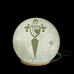 thumbnail_1610895927627.jpg Download STL file Moon lamp Celtic football team of Vigo • 3D print object, mgarciabart