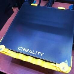 135922492_769753950419779_8119252793790621722_n.jpg Télécharger fichier STL Pince rapide de lit pour Creality Ender 3, Ender 3 pro, Ender 3 V2, Ender 5, Ender 5 pro • Objet pour impression 3D, blueprints3dinc
