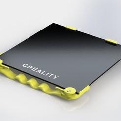 1.JPG Télécharger fichier STL Pince rapide de lit pour Creality Ender 3, Ender 3 pro, Ender 3 V2, Ender 5, Ender 5 pro • Objet pour impression 3D, blueprints3dinc