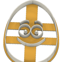21-0074.png Download STL file Easter cookie cutter funny egg • Model to 3D print, CookieCutterBoss