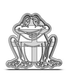 20-0175.png Télécharger fichier STL Coupe-biscuits Petit animal • Design à imprimer en 3D, CookieCutterBoss