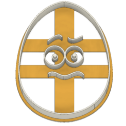 21-0071.png Download STL file Easter cookie cutter funny egg • Model to 3D print, CookieCutterBoss
