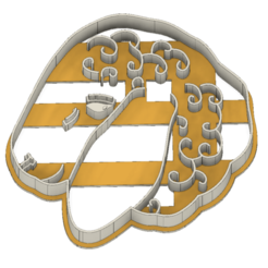 21-0061.png Download STL file Easter Lamb Cookie Cutter • 3D printer model, CookieCutterBoss
