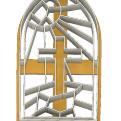 21-0076.png Download STL file Easter Cookie cutter Stained glass • 3D print object, CookieCutterBoss