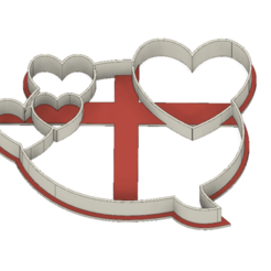21-0039.png Download STL file Cookie cutter Valentine´s Day • 3D print template, CookieCutterBoss