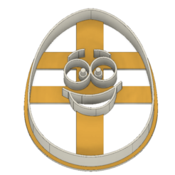 21-0070.png Download STL file Easter cookie cutter funny egg • Model to 3D print, CookieCutterBoss