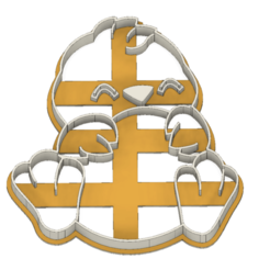 21-0065.png Download STL file Easter Cookie cutter Chick • 3D print object, CookieCutterBoss