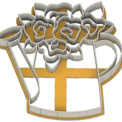21-0086.png Download STL file Easter flowers cookie cutter • 3D print object, CookieCutterBoss