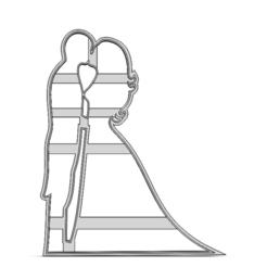 19-0385.png Télécharger fichier STL Couple de la Saint-Valentin • Plan à imprimer en 3D, CookieCutterBoss