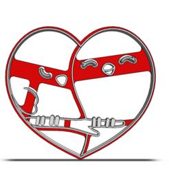 19-0036.png Télécharger fichier STL Découpeur de biscuits Saint-Valentin • Objet à imprimer en 3D, CookieCutterBoss