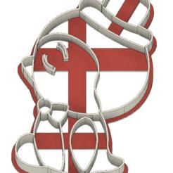 21-0105.png Télécharger fichier STL Découpeur de biscuits Saint-Valentin M. Pingouin • Modèle à imprimer en 3D, CookieCutterBoss