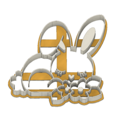 21-0077.png Download STL file Easter Cookie cutter Bunny • 3D printing object, CookieCutterBoss