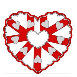 19-0038.png Télécharger fichier STL Découpeur de biscuits Saint-Valentin • Objet à imprimer en 3D, CookieCutterBoss