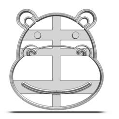 20-0108.png Download STL file Cookie cutter Hippo • 3D printer model, CookieCutterBoss