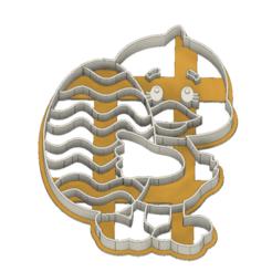 21-0064.png Download STL file Easter Cookie cutter duck • 3D printer object, CookieCutterBoss