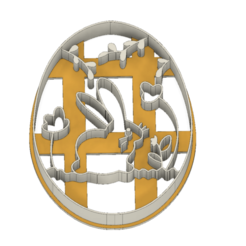 21-0123.png Download STL file Easter Cookie cutter Bunny • 3D printing object, CookieCutterBoss