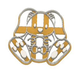 21-0048.png Download STL file Easter Cookie cutter Bunny • 3D printing object, CookieCutterBoss