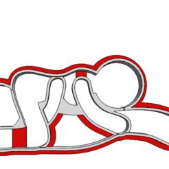 19-0028.png Télécharger fichier STL Découpeur de biscuits Saint-Valentin • Objet à imprimer en 3D, CookieCutterBoss