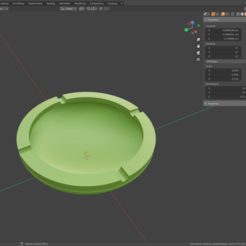 Ashtray_SimpleDesign_2020_01.png Download STL file Ashtray - Simple Design • 3D printable template, SitaroArtworks