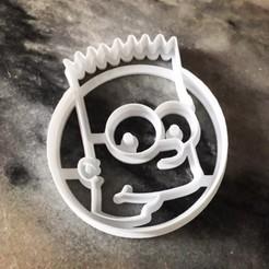 bartcutter.jpg Download GCODE file Bart Simpson Cookie Cutter • 3D printing design, MaartenvS
