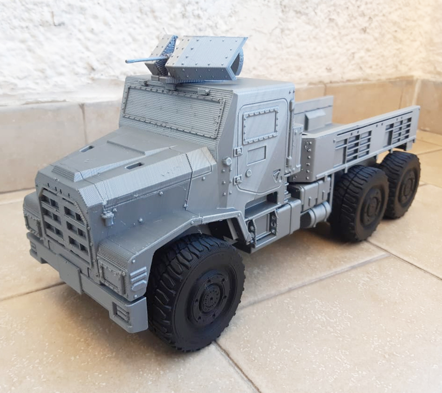 Image-5.jpg Download STL file 3D Printable Call of Duty Warzone Truck • 3D printable object, jorgeciprian