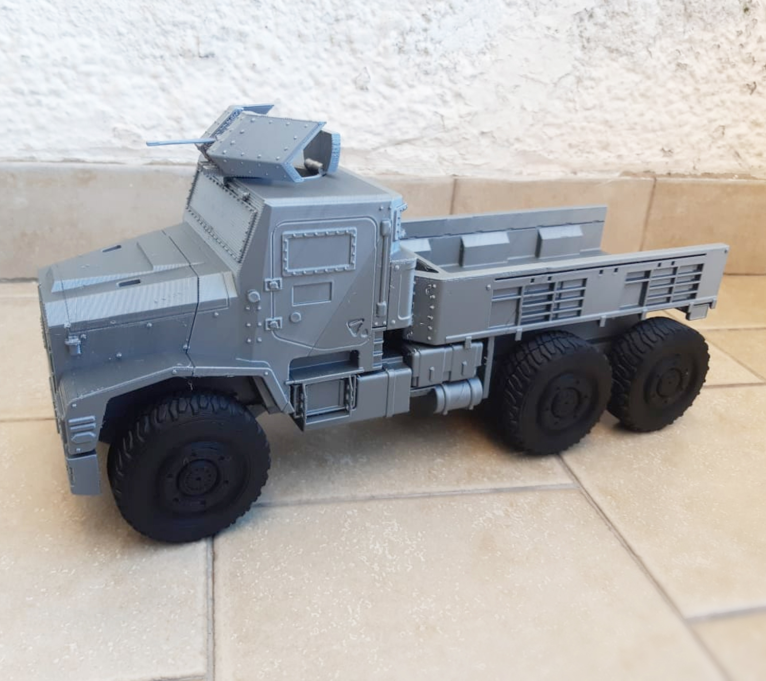 Image-2.jpg Download STL file 3D Printable Call of Duty Warzone Truck • 3D printable object, jorgeciprian
