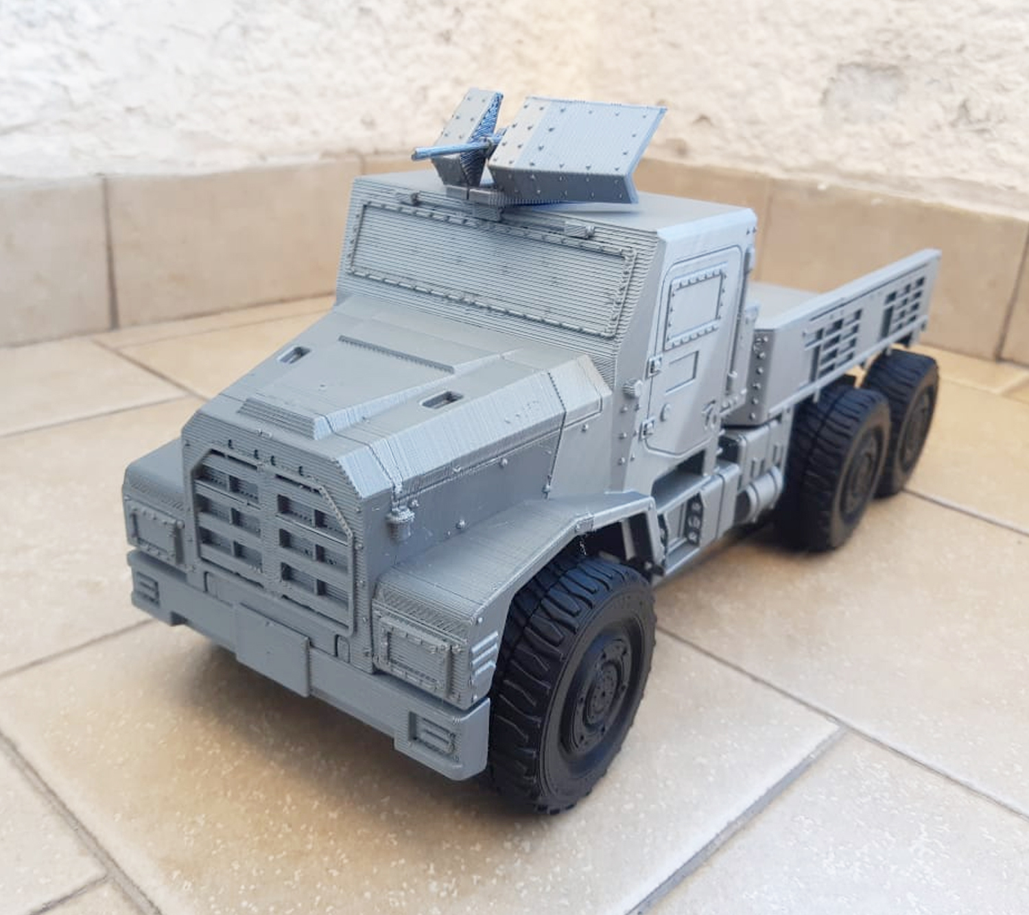 Image-3.jpg Download STL file 3D Printable Call of Duty Warzone Truck • 3D printable object, jorgeciprian