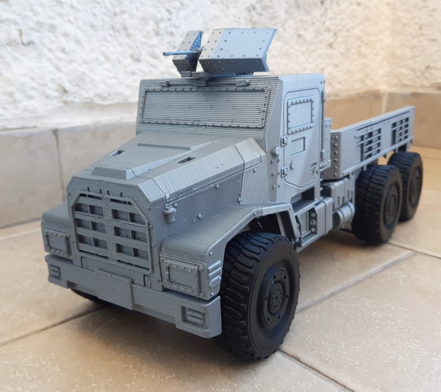 Image-1.jpg Download STL file 3D Printable Call of Duty Warzone Truck • 3D printable object, jorgeciprian
