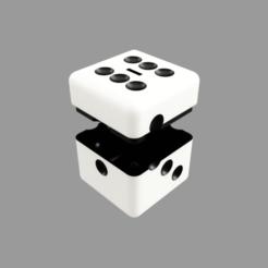 Hucha_Dado_2021-Jan-08_05-45-59AM-000_CustomizedView66813666802.png Download STL file Dice Piggy Bank • Design to 3D print, nr_modelos3d