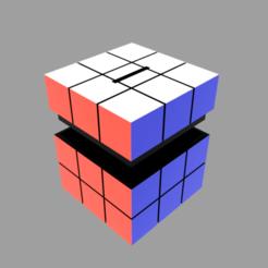 Hucha_Rubik_2021-Jan-08_05-20-20AM-000_CustomizedView5080778181.png Download STL file Rubik's Cube Money Box • Object to 3D print, nr_modelos3d