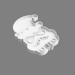 42fa76d0-de84-4567-8084-53a2d5c822e1.PNG Download STL file Stormtrooper cookie cutter Christmas version • 3D printable template, nr_modelos3d