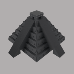 Torre_de_mexico_2021-Jan-15_06-23-51AM-000_CustomizedView53086823852.png Télécharger fichier STL Le temple de Kukulkan • Design à imprimer en 3D, nr_modelos3d