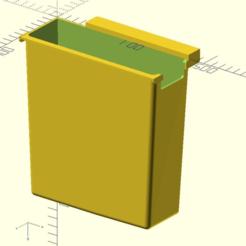ASR_33_chad_bucket_01.png Télécharger fichier SCAD gratuit Boîte de balles de télétype ASR 33 • Design imprimable en 3D, 1944GPW